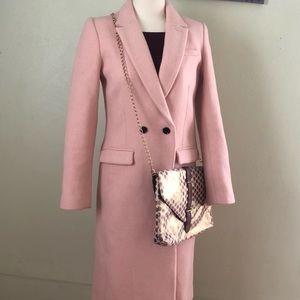 Pale Pink Banana Republic Trench Coat